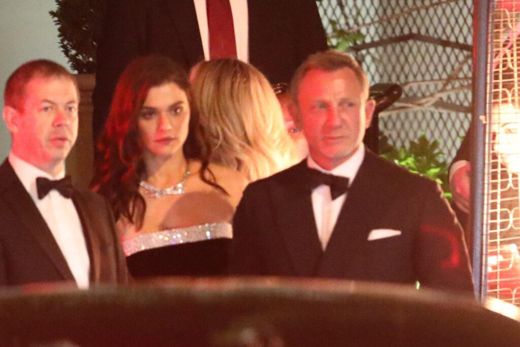 Daniel Craig and Rachel Weisz attend a Golden Globes after party held at the Sunset Tower Hotel