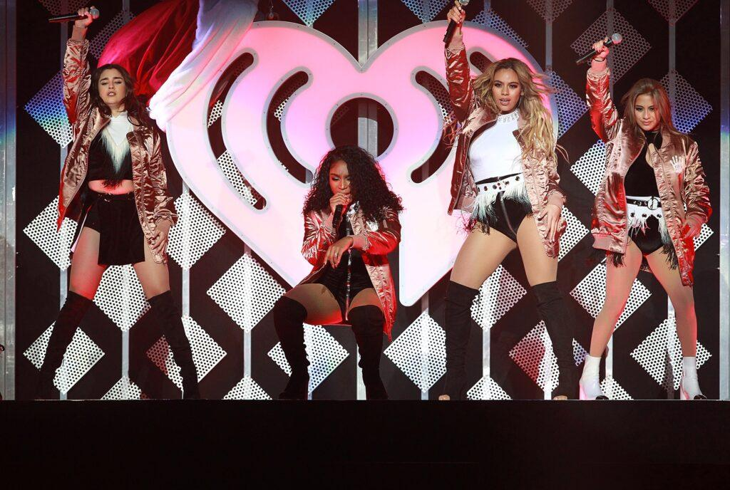 Fifth Harmony performs on stage during the 102 7 KIIS FM apos s Jingle Ball 2016