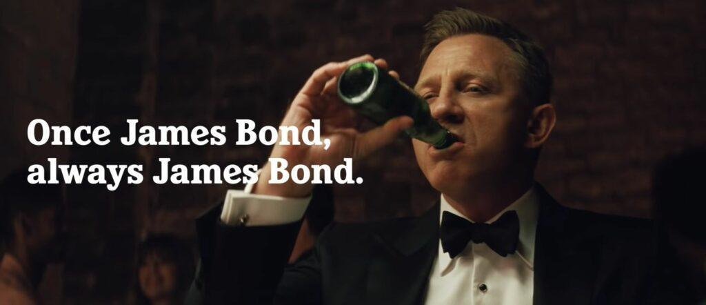 Daniel Craig can apos t escape his James Bond character in Heineken commercial