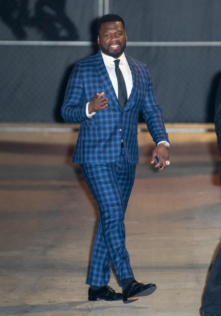 50 Cent at apos Kimmel apos