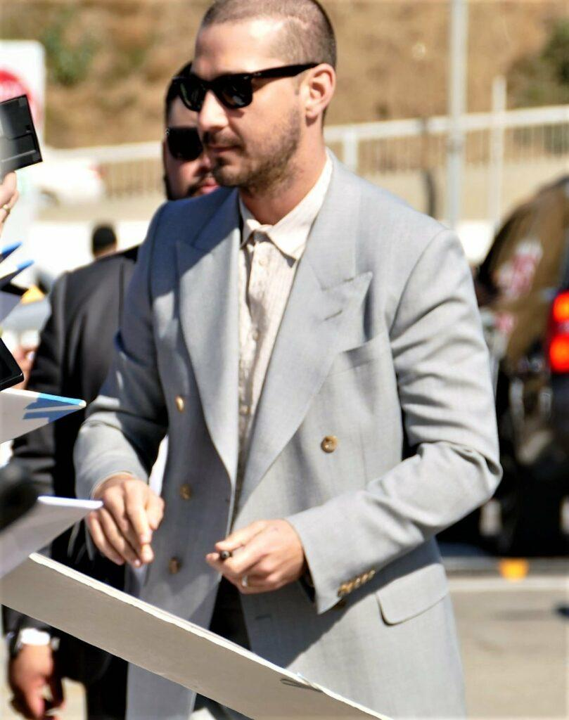 Shia LaBeouf Arrival To The Independent Spirit Awards
