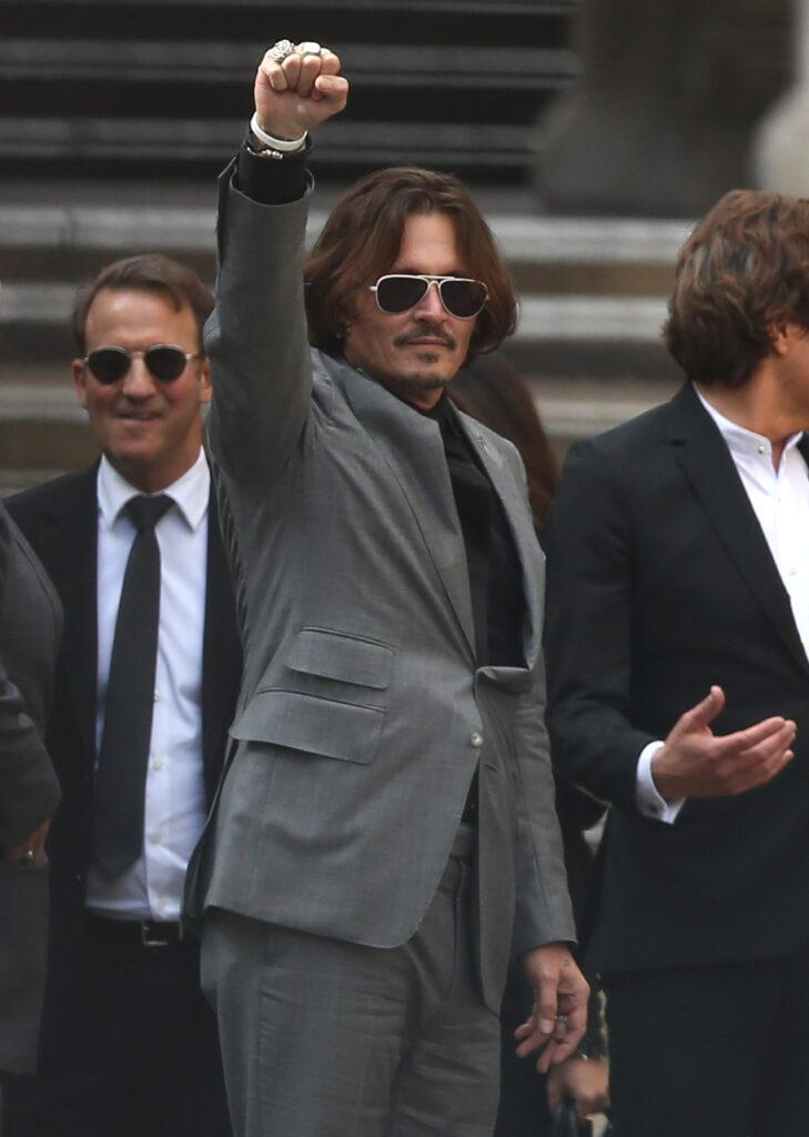 Johnny Depp Leaves Court In London On Final Day Of Trial