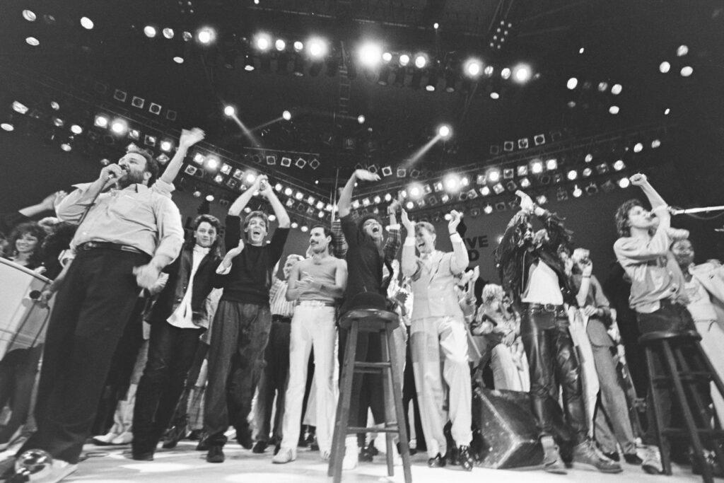 Live Aid Concert Wembley 1985