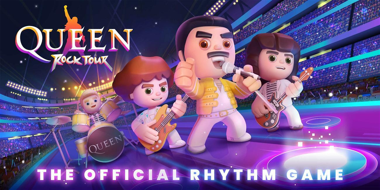 Rockers Queen star in mobile video game