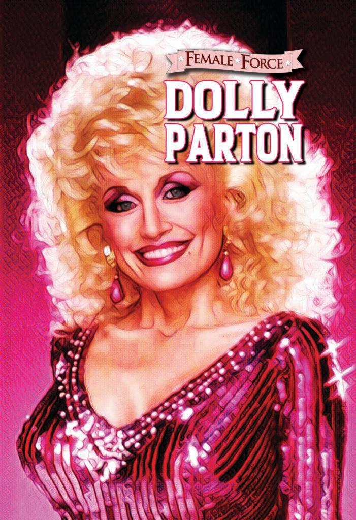 Dolly Parton is a comic book star