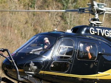 Tom Cruise Landed a Helicopter On Some Family's Lawn