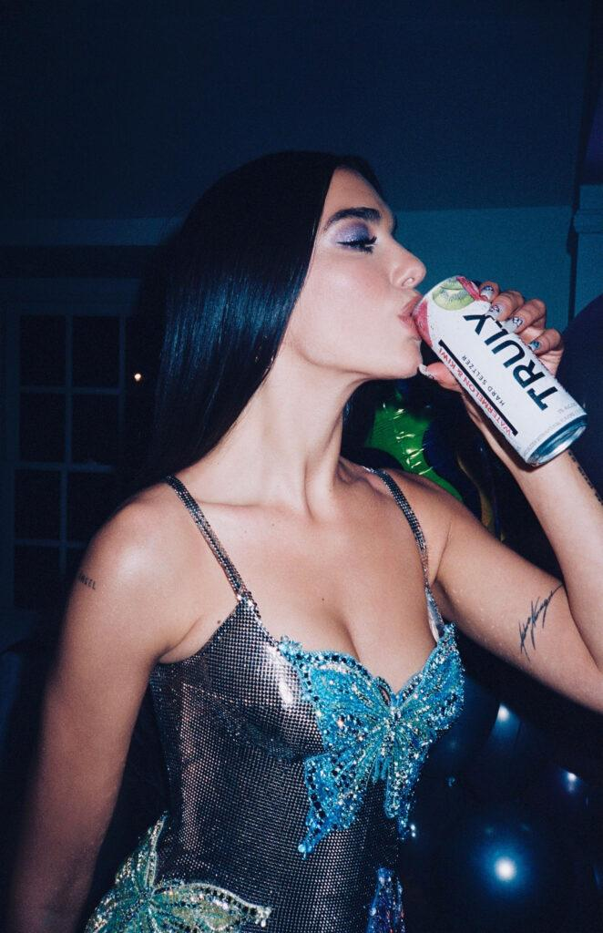 Dua Lipa sparkles in new campaign for Truly Hard Seltzer