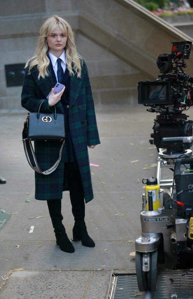 Emily Alyn Lind Evan Mock film HBO Max apos s quot Gossip Girl quot reboot