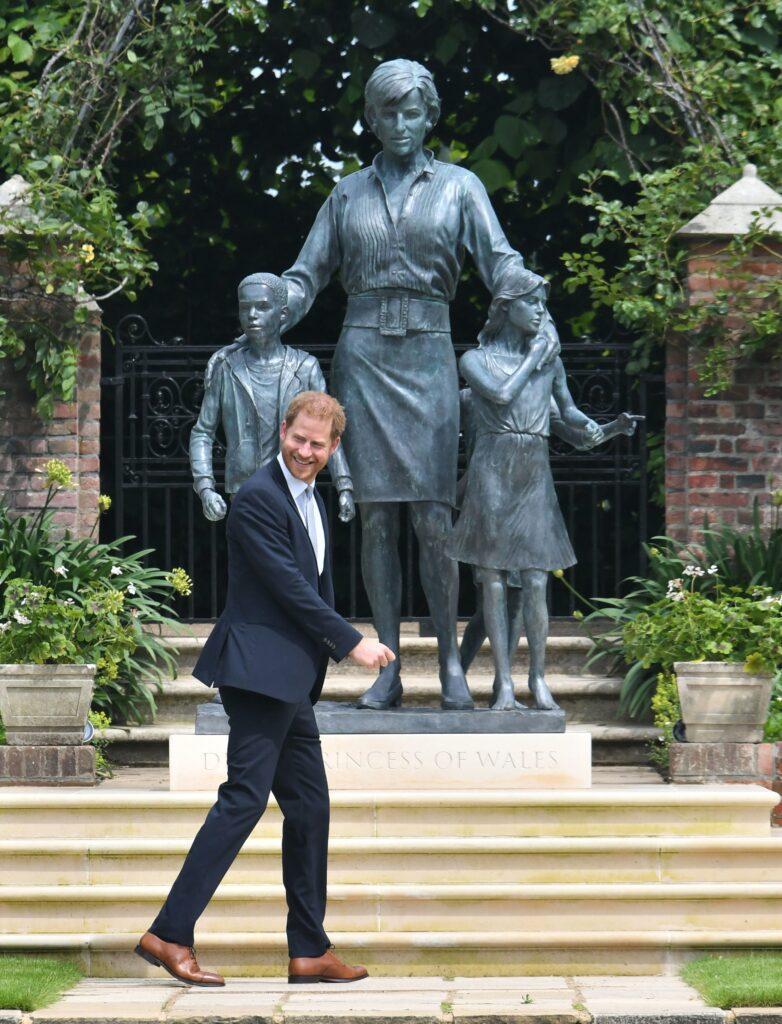 Diana Princess Of Wales Statue Unveiling At Kensington Palace