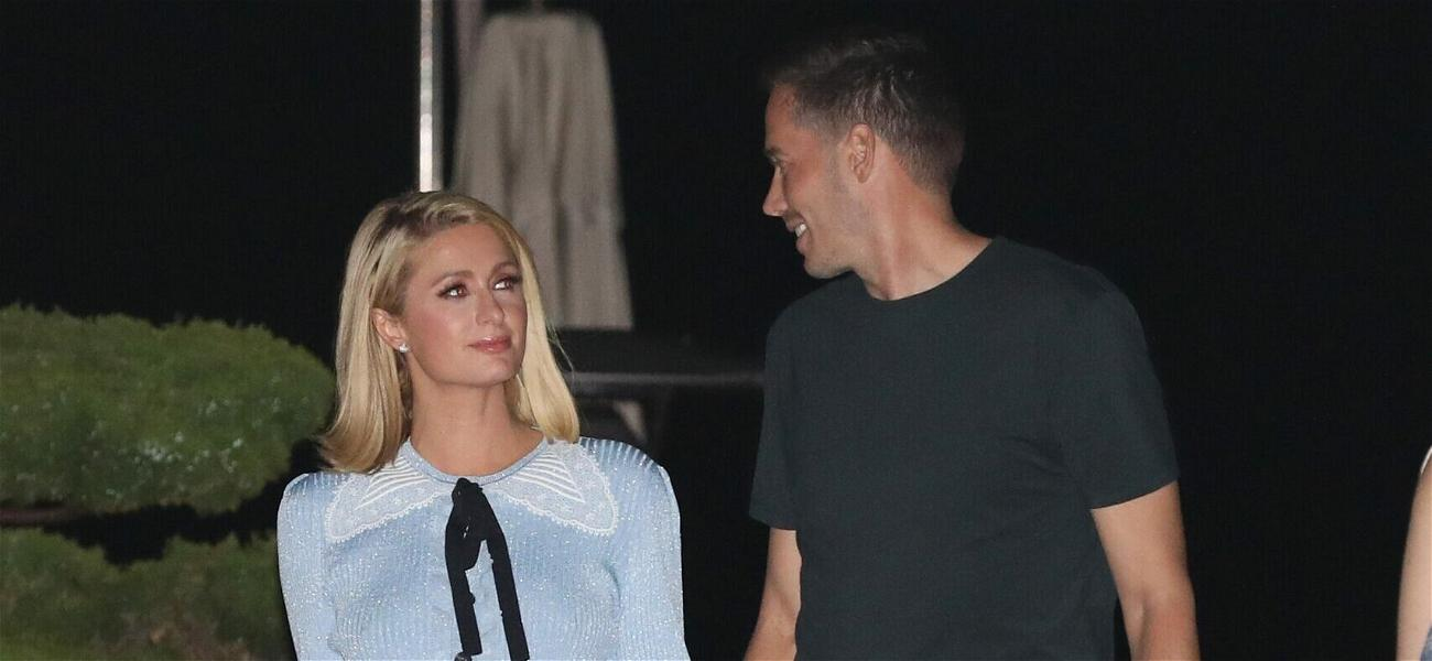Paris Hilton & Carter Reum Look All Loved-Up While Yachting In France
