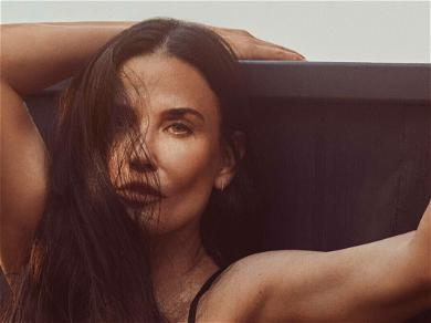 Demi Moore Flaunts Toned Physique In 'Red Hot' One-Piece Swimsuit