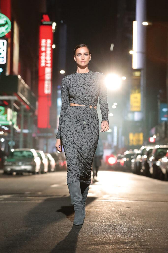 Supermodels strut their stuff on the streets of NYC for Michael Kors