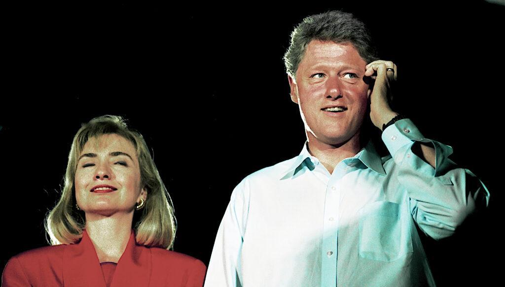 Governor Bill Clinton Campaigns In Texas