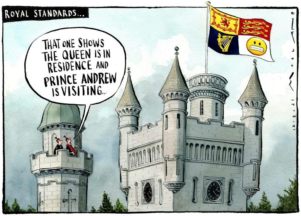 Morten Morland cartoon for The Times