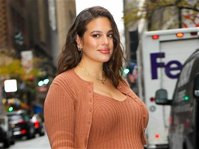 Ashley Graham Goes Completely Naked 'Again' In New Maternity Photos