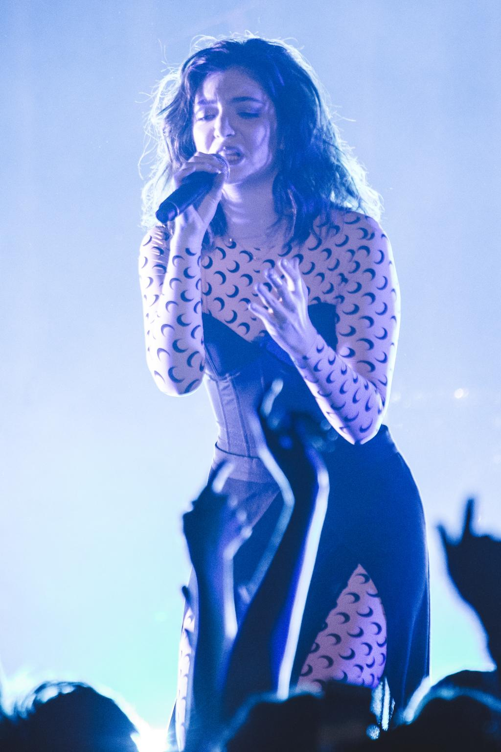 Lorde performs at the Manchester Apollo on the opening night of her 2017 18 world tour