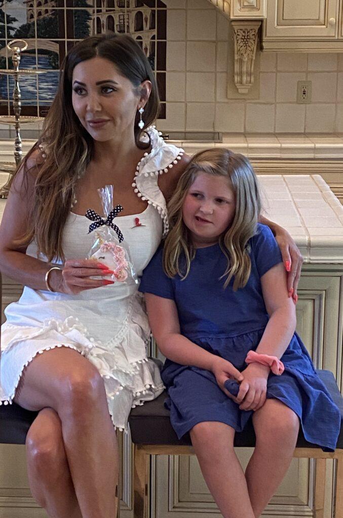 Michele Sullivan with Addie