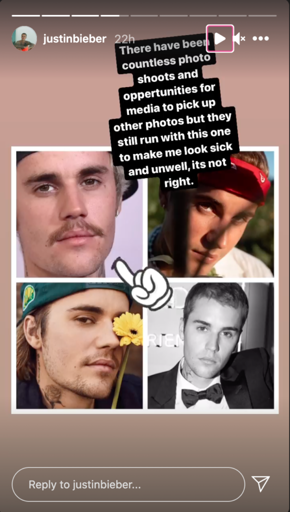 A collage of photos of Justin Bieber