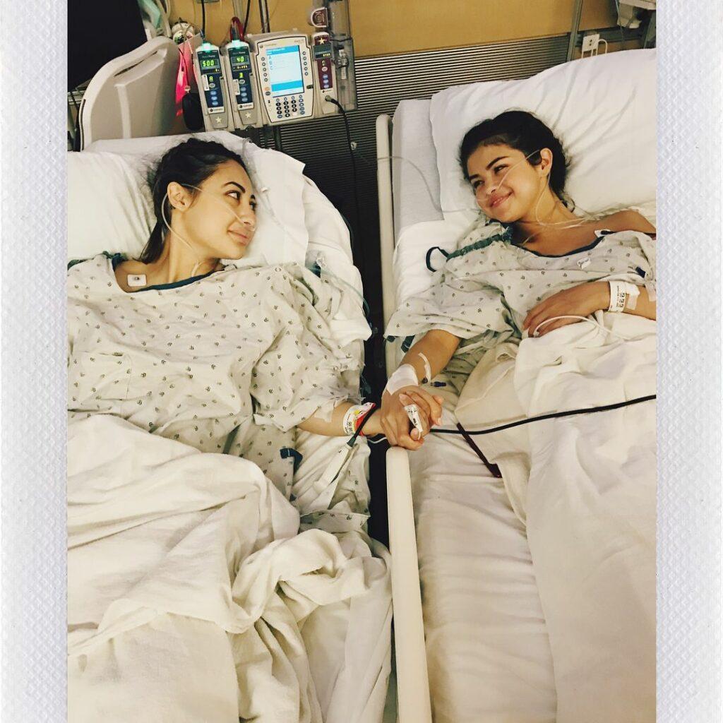 Selena Gomez and Francia Raísa