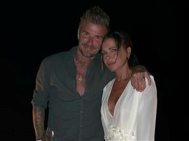 David Beckham's Bare Butt In Full View, As Victoria Beckham Shows Off Photography Skills
