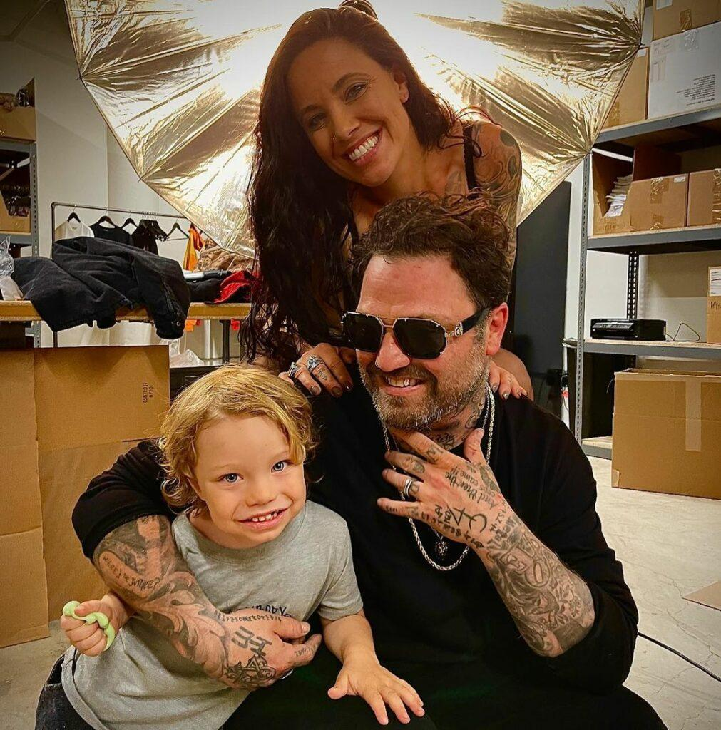 Bam Margera and wife