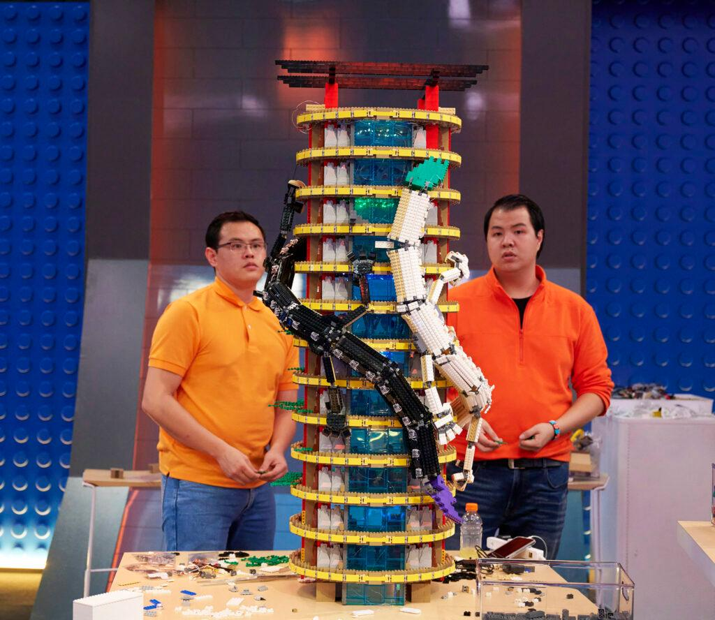 Lego Masters team finale