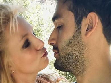 Britney Spears' BF Sam Asghari Spotted Ring Shopping At Cartier