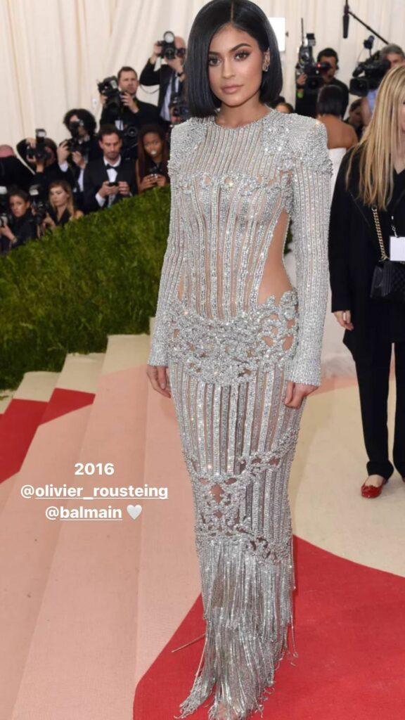 Kylie Jenner t the 2016 Met Gala