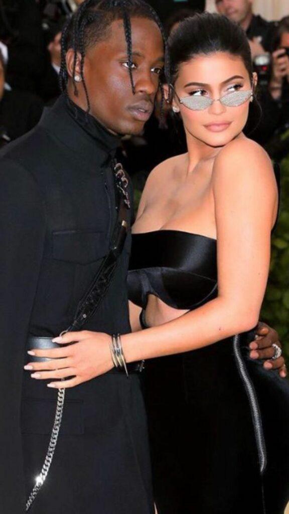 Kylie Jenner & Travis Scott at 2018 Met Gala