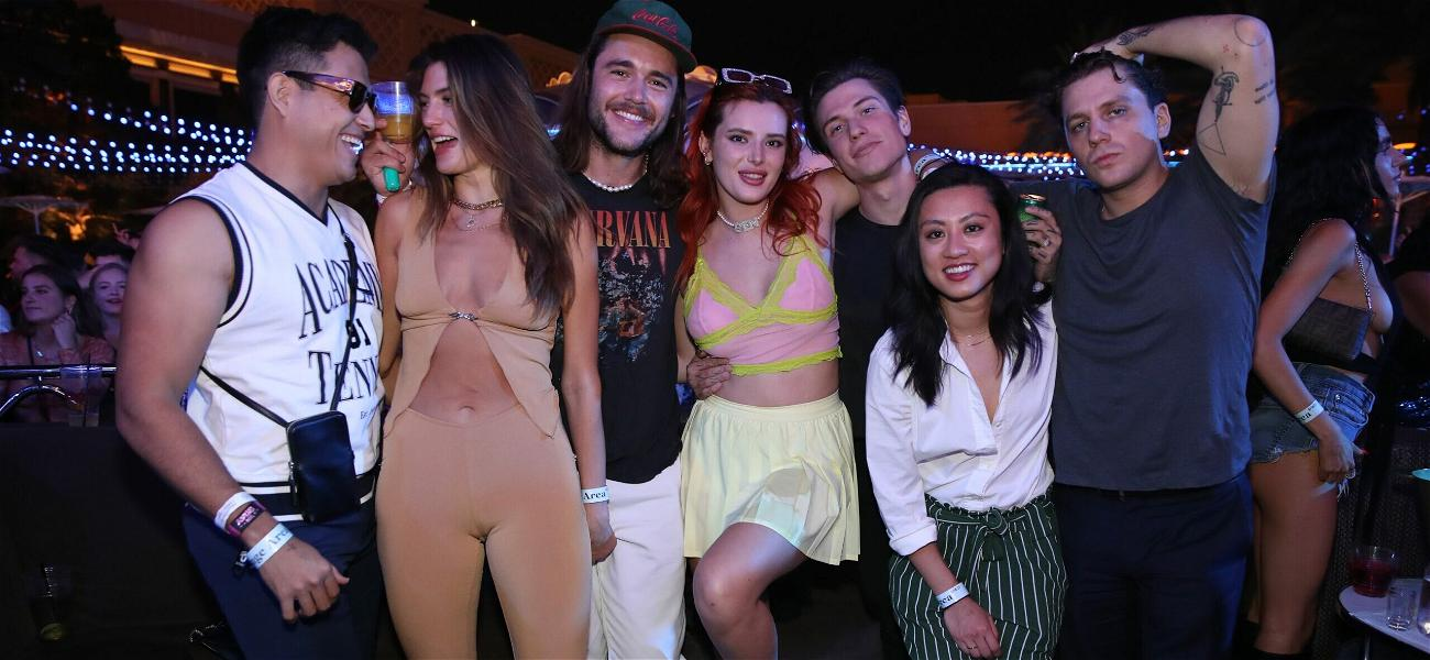 Bella Thorne Stuns At The Wynn, Las Vegas Partying With 'The Chainsmokers'