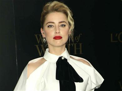 Amber Heard Drops Smoking Hot Pictures Of Herself 'Mama Multitasking'
