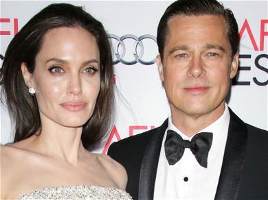 Brad Pitt Isn't Happy Angelina Jolie Possibly Exposed Kids To COVID-19