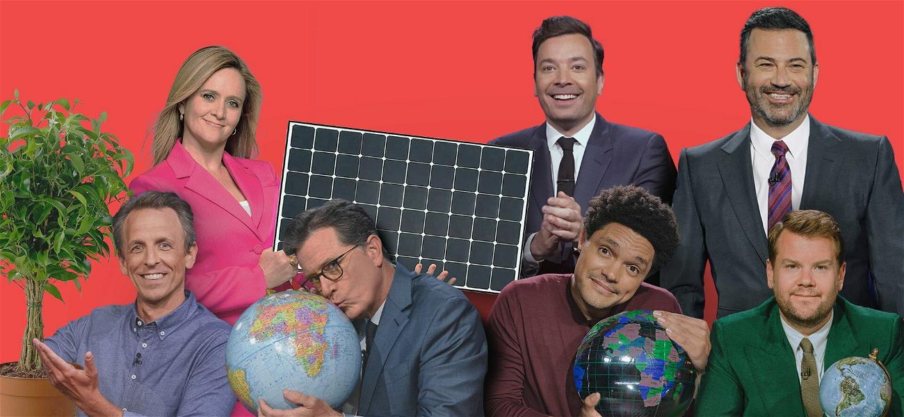 Late Night Show Hosts Unite Against Climate Change