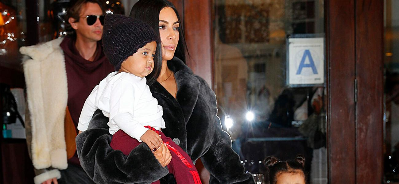 Kim Kardashian's Son Hospitalized After Breaking His Arm In Several Places