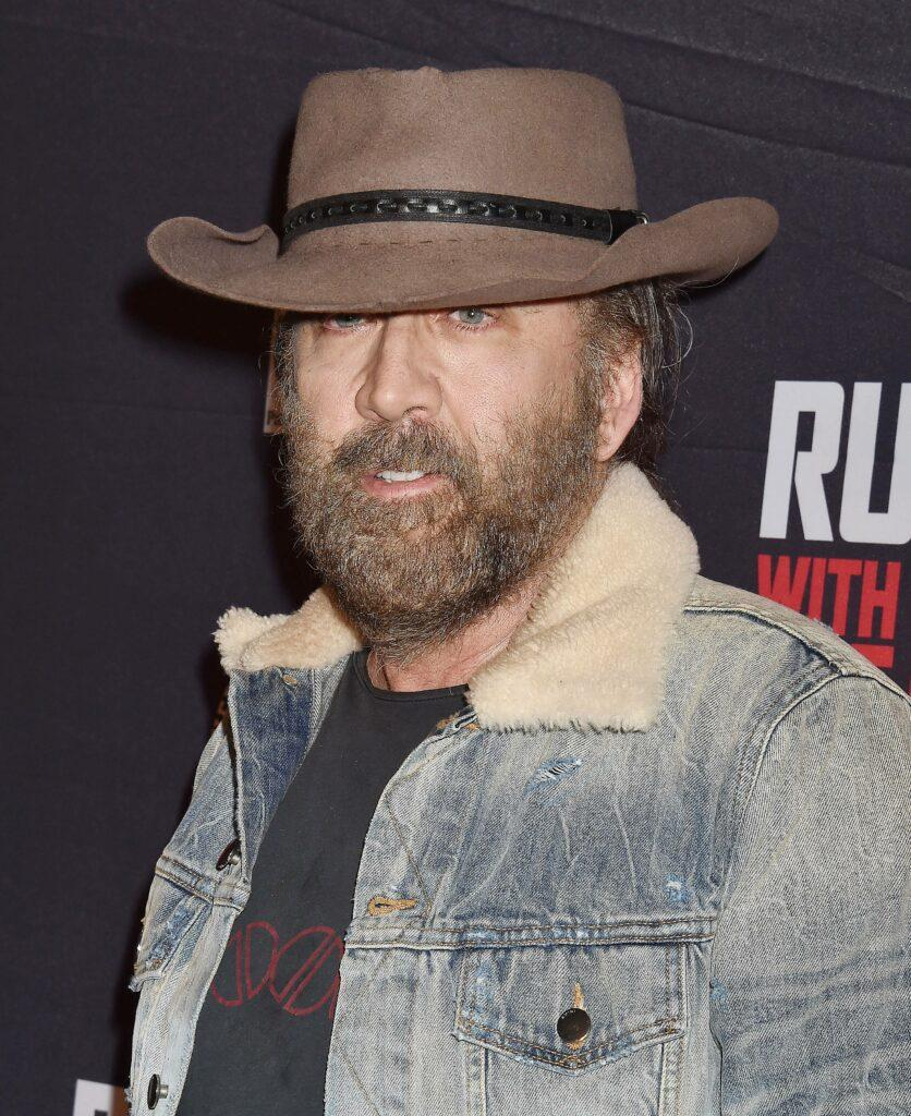 """Nicolas Cage Premiere Of Quiver Distribution's """"Running With The Devil"""" - Arrivals"""