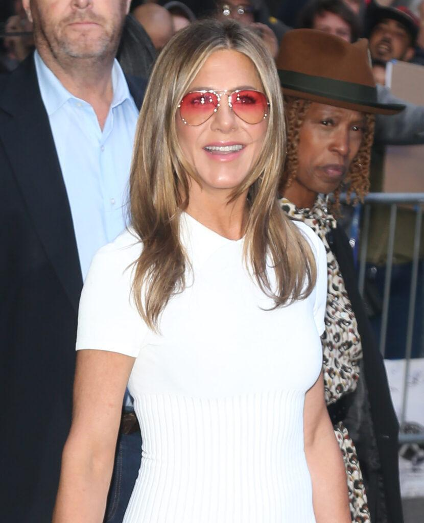 Jennifer Aniston out and about in New York City
