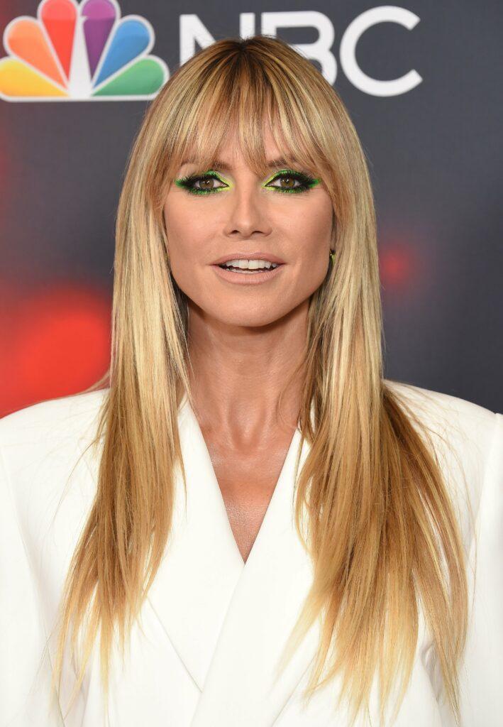 "Heidi Klum Red Carpet for ""America's Got Talent"" Live Show"