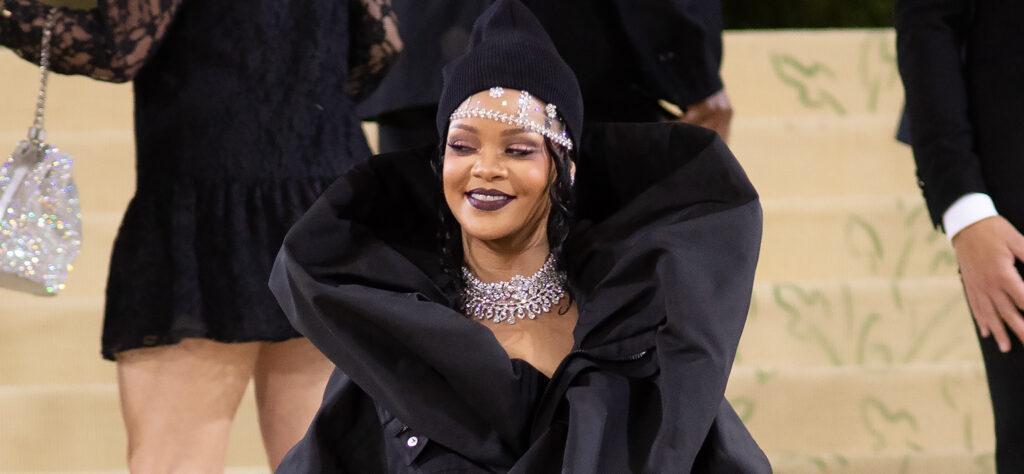 Rihanna Attends the 2021 MET Costume Gala