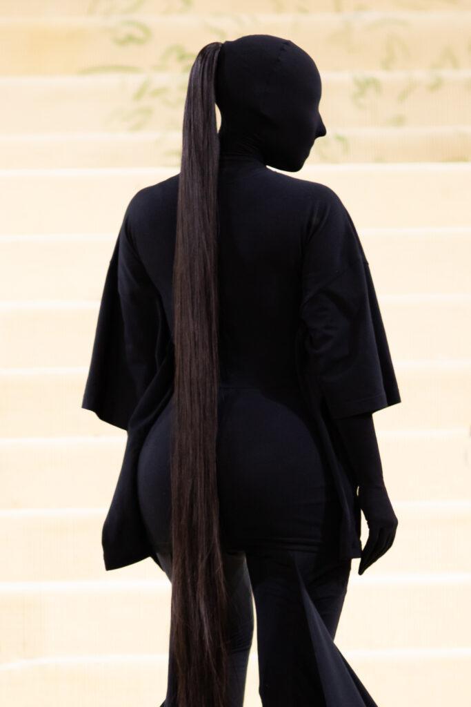 Kim Kardashian The 2021 Met Costume Gala Celebrating In America: A Lexicon Of Fashion