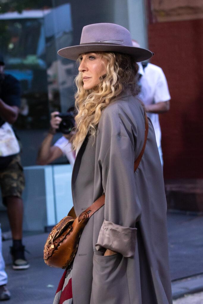 SJP returns to work in NYC