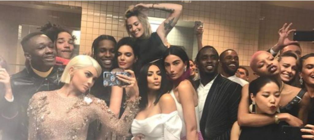 Kylie Jenner's 2017 Met Gala bathroom selfie