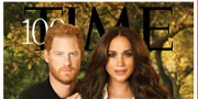 Prince Harry & Meghan Markle Get Trolled For Overly Photoshopped TIME Cover