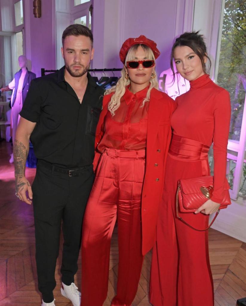 Liam Payne, Rita Ora and Maya Henry together