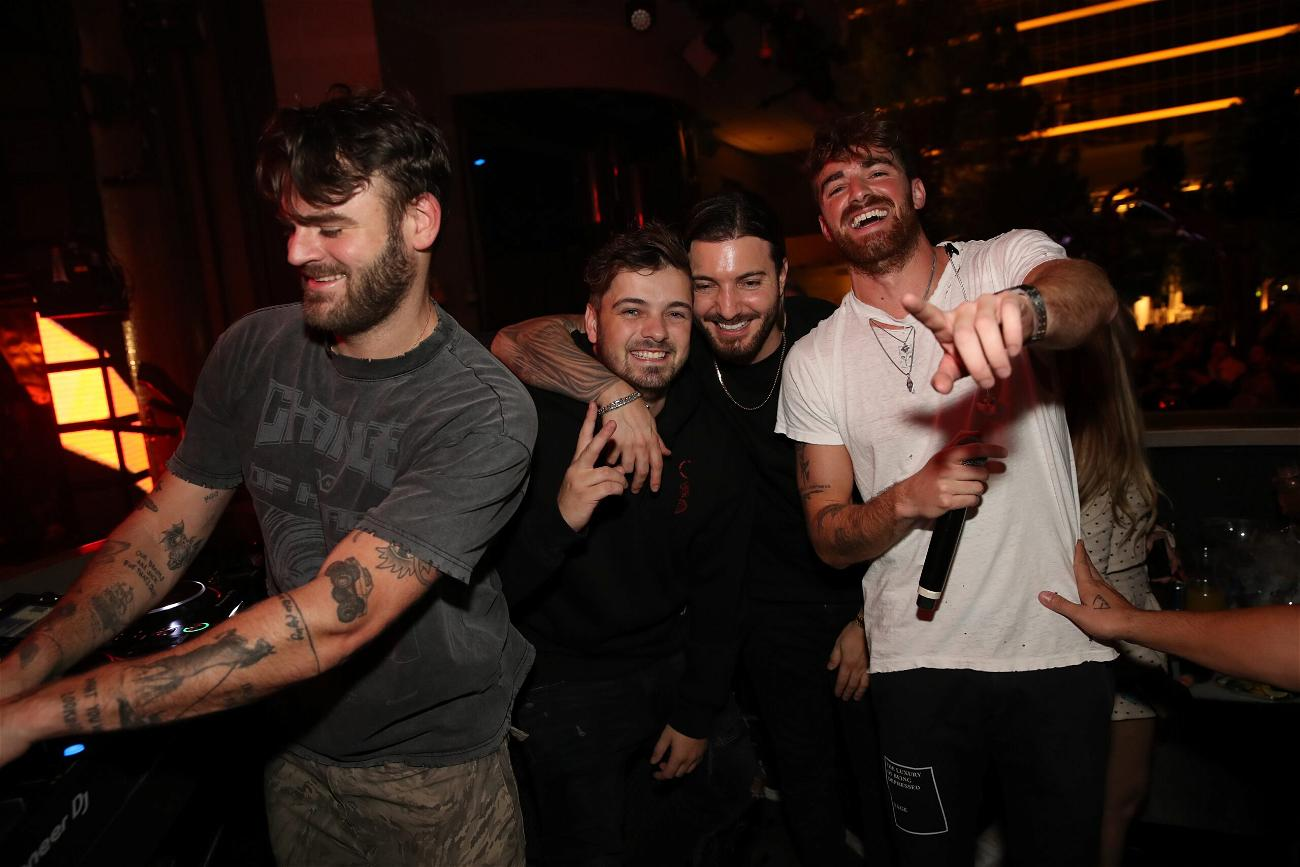 'Bachelorette' Star Tayshia Adams Parties With The Chainsmokers