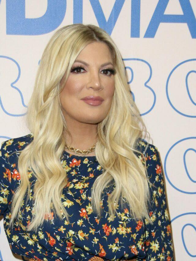 Tori Spelling Dodges Questions About Her Marriage!