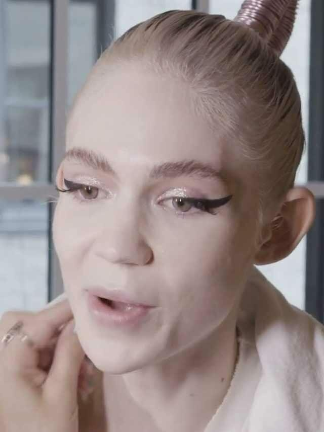 Grimes is happy her son doesn't call her mom for this reason