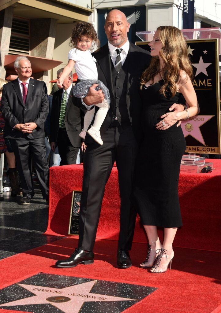 Dwayne Johnson star ceremony on the Hollywood Walk of Fame