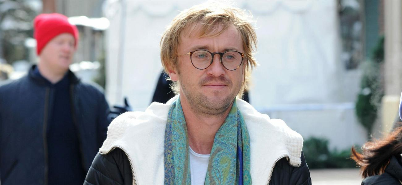 Harry Potter's Tom Felton Collapses At Ryder Cup Exhibition Golf Tourney