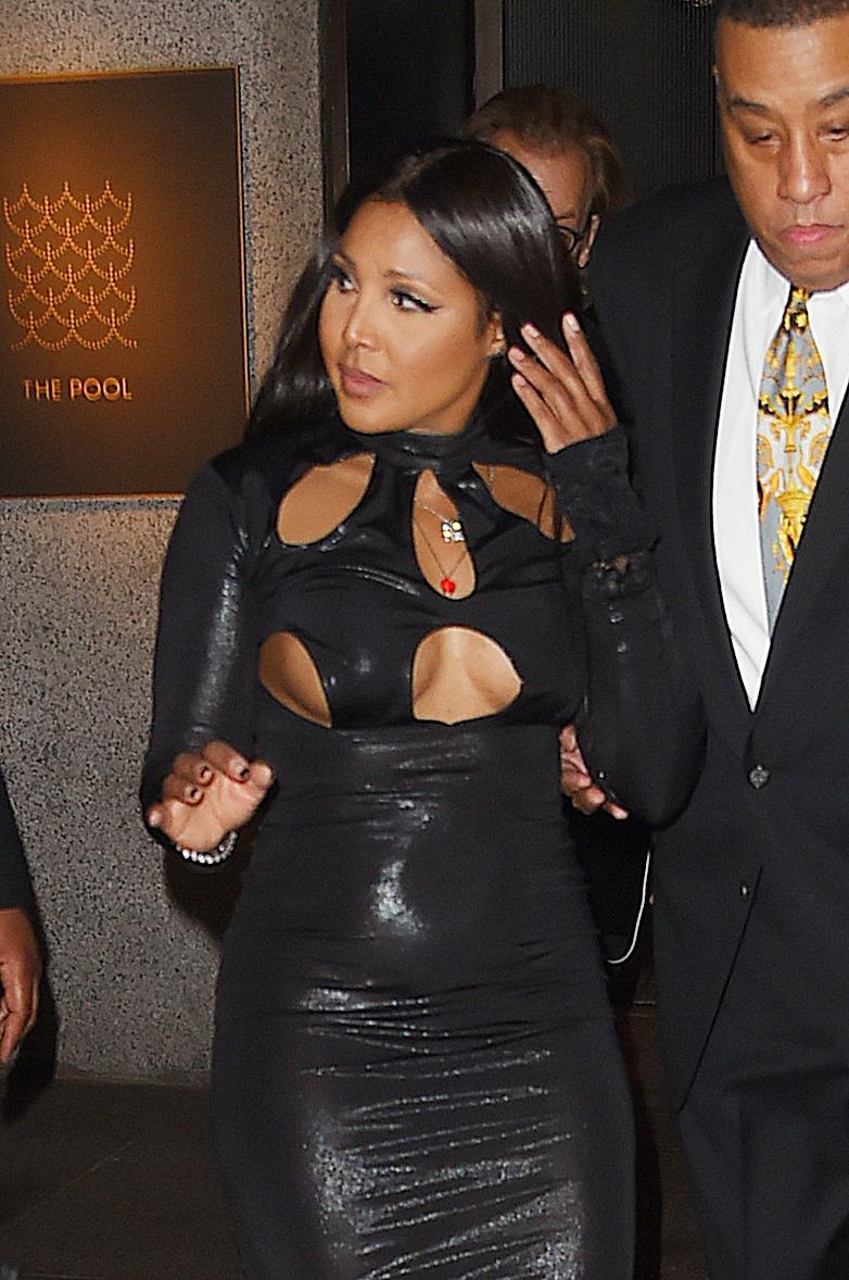 Celebrities seen at Rihanna apos s Birthday party at THE GRILL Restaurant