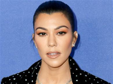 Kourtney Kardashian Looks Insanely Hot & 'Rad' While Straddling A Bicycle In Checkered Bikini